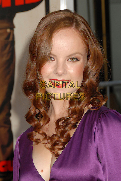"AVIVA.""Superbad"" Los Angeles Premiere at Grauman's Chinese Theatre, Hollywood, California, USA..August 13th, 2007.headshot portrait .CAP/ADM/BP.©Byron Purvis/AdMedia/Capital Pictures"