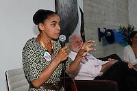 ATENÇÃO EDITOR: FOTO EMBARGADA PARA VEÍCULOS INTERNACIONAIS. SAO PAULO SP, 30 DE SETEMBRO DE 2012. ELEICAO 2012 - CAMPANHA SONINHA FRANCINE. A ex senadora Marina Silva durante encontro para mobilizacao em torno da candidatura de Ricardo Young para vereador de Sao Paulo, na tarde deste domingo na Vila Madalena, zona oeste da capital paulista. FOTO ADRIANA SPACA/BRAZIL PHOTO PRESS
