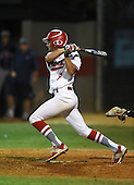 Lake Mary Rams Jared Batista (6) during a game against the Lake Brantley Patriots on April 2, 2015 at Allen Tuttle Field in Lake Mary, Florida.  Lake Brantley defeated Lake Mary 10-5.  (Mike Janes Photography)