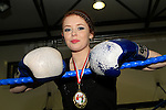 Michaela Stowe (48kg Winner and Coach) at Drogheda Boxing Club, Moneymore...Photo NEWSFILE/Jenny Matthews..(Photo credit should read Jenny Matthews/NEWSFILE)