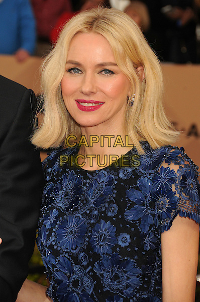 30 January 2016 - Los Angeles, California - Naomi Watts. 22nd Annual Screen Actors Guild Awards held at The Shrine Auditorium.      <br /> CAP/ADM/BP<br /> &copy;BP/ADM/Capital Pictures