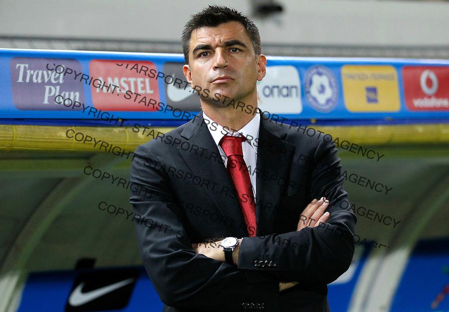 Fudbal<br /> Prijateljski mec-Friendly match<br /> Srbija v Grcka<br /> head coach of Serbia Radovan Curcic <br /> Chania, 18.11.2014.<br /> foto: Srdjan Stevanovic/Starsportphoto &copy;