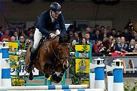ZUIDBROEK - Paardensport, ICCH Zuidbroek, springen internationaal Grote Prijs , 05-01-2019, Albert Zoer met Florian