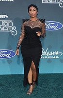 17 November 2019 - Las Vegas, NV - Angell conwell. 2019 Soul Train Awards Red Carpet Arrivals at Orleans Arena. Photo Credit: MJT/AdMedia