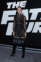 www.acepixs.com<br /> April 8, 2017  New York City<br /> <br /> Charlize Theron attending 'The Fate Of The Furious' New York premiere at Radio City Music Hall on April 8, 2017 in New York City.<br /> <br /> Credit: Kristin Callahan/ACE Pictures<br /> <br /> <br /> Tel: 646 769 0430<br /> Email: info@acepixs.com