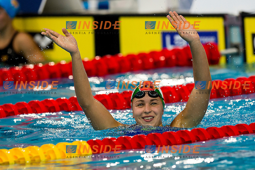 Kesely Ajna HUN<br /> 400 Freestyle Women Final Gold Medal <br /> LEN 43rd Arena European Junior Swimming Championships<br /> Hodmezovasarhely, Hungary <br /> Day02 07-07-2016<br /> Photo Andrea Masini/Deepbluemedia/Insidefoto