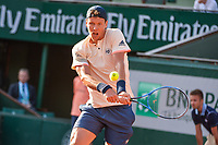 Tomas Berdych of Czech Republic   during Day 3 for the French Open 2018 on May 29, 2018 in Paris, France. (Photo by Baptiste Fernandez/Icon Sport)