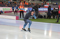 SPEEDSKATING: HAMAR: Vikingskipet, 28-02-2020, ISU World Speed Skating Championships, Sprint, 500m Men, Artur Galiyev (KAZ), ©photo Martin de Jong