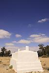 Israel, Negev, tomb of Sheikh Azam in Bir Asluj