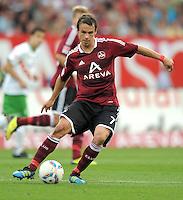 FUSSBALL   1. BUNDESLIGA  SAISON 2011/2012   6. Spieltag 1 FC Nuernberg - SV Werder Bremen         17.09.2011 Markus Feulner (1 FC Nuernberg)