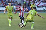 Atlético Junior venció como local 1-0 a Jaguares de Córdoba. Fecha 10 Liga Águila II-2016,