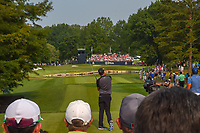 Nick Watney (USA) watches his tee shot on 6 during 4th round of the 100th PGA Championship at Bellerive Country Club, St. Louis, Missouri. 8/12/2018.<br /> Picture: Golffile   Ken Murray<br /> <br /> All photo usage must carry mandatory copyright credit (© Golffile   Ken Murray)