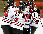 - The Northeastern University Huskies defeated the Boston University Terriers in a shootout after being tied at 4 following overtime in their Beanpot semi-final game on Tuesday, February 2, 2010 at the Bright Hockey Center in Cambridge, Massachusetts.
