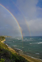 Rainbow from Diamond Head lookout