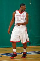 April 9, 2011 - Hampton, VA. USA;  Brian Bridgewater participates in the 2011 Elite Youth Basketball League at the Boo Williams Sports Complex. Photo/Andrew Shurtleff
