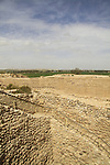 Israel, Negev desert, Tel Beer Sheba, the shaft to the water system of the Biblical city of Beer Sheba, UNESCO World Heritage Site