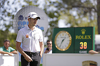 Ivan Cantero Gutierrez (ESP) on the 10th tee during the second round of the Mutuactivos Open de Espana, Club de Campo Villa de Madrid, Madrid, Madrid, Spain. 04/10/2019.<br /> Picture Hugo Alcalde / Golffile.ie<br /> <br /> All photo usage must carry mandatory copyright credit (© Golffile | Hugo Alcalde)