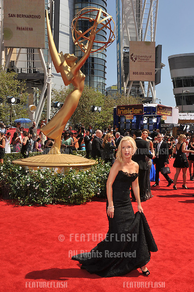 Angela Kinsey at the 2010 Primetime Emmy Awards at the Nokia Theatre L.A. Live in downtown Los Angeles..August 29, 2010  Los Angeles, CA.Picture: Paul Smith / Featureflash