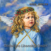 CHILDREN, KINDER, NIÑOS, paintings+++++,USLGSK0159,#K#, EVERYDAY ,Sandra Kock, victorian ,angels