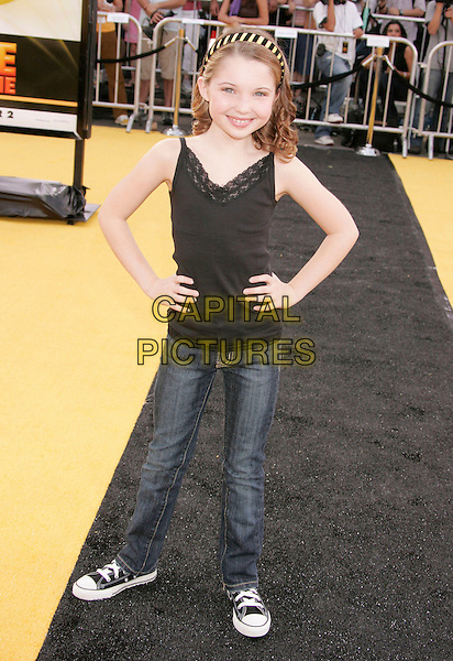 "SAMMI HANRATTY.""Bee Movie"" Los Angeles Premiere held at Mann's Village Theatre, Westwood, California, USA, 28 October 2007..full length.CAP/ADM/RE.©Russ Elliot/AdMedia/Capital Pictures."