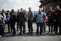 waiting for the peloton <br /> <br /> E3 - Harelbeke 2016