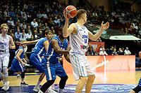 GRONINGEN - Basketbal, Donar - Fribourg, tweede voorronde Champions League, seizoen 2018-2019, 25-09-2018,  Donar speler Thomas Koenes