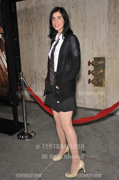 "Sarah Silverman at the Los Angeles premiere of ""Machete"" at The Orpheum Theatre..August 25, 2010  Los Angeles, CA.Picture: Paul Smith / Featureflash"