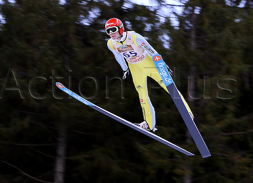 13.12.2013 Titisee-Neustadt Germany. Mens World Cup Ski-Jumping Training and Qualification. Andreas Wellinger (GER)