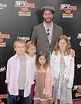 Noah Wyle and family at The Weinstein Company World Premiere of Spy Kids: All the Time in the World in 4 held at The Regal Cinames,L.A. Live in Los Angeles, California on July 31,2011                                                                               © 2011 Hollywood Press Agency