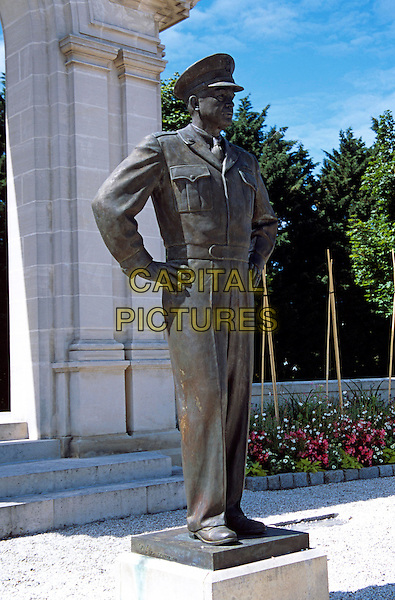 Monument to General Eisenhower, Bayeux, Normandy, France