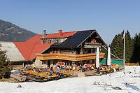 Alpe Bl&auml;sse bei Ofterschwang im Allg&auml;u, Bayern, Deutschland<br /> Alpe Bl&auml;sse, Ofterschwang. Bavaria, Germany