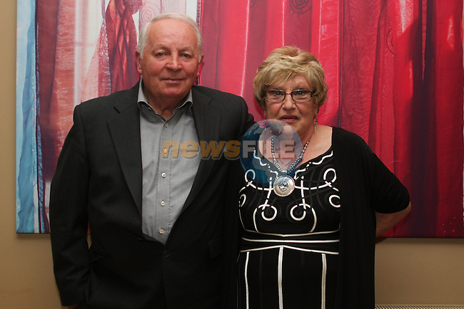Peggy and Ned Gorman celebrating their 50th Wedding Anniversary in Harrys...(Photo credit should read www.newsfile.ie)....This Picture has been sent you under the conditions enclosed by:.Newsfile Ltd..The Studio,.Millmount Abbey,.Drogheda,.Co Meath..Ireland..Tel: +353(0)41-9871240.Fax: +353(0)41-9871260.GSM: +353(0)86-2500958.email: pictures@newsfile.ie.www.newsfile.ie.