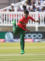 Mehedi Hasan Miraz (Bangladesh) - Bangladesh opened with spin during Pakistan vs Bangladesh, ICC World Cup Cricket at Lord's Cricket Ground on 5th July 2019