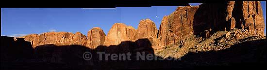 panoramic Old Tombstone, Kane Creek Canyon;&amp;#xA;2.20.2005<br />