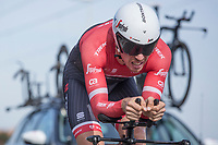 9th place GC: Boy Van Poppel (NED/Trek-Segafredo)<br /> <br /> 3 Days of De Panne 2017<br /> afternoon stage 3b: ITT De Panne-De Panne (14,2km)
