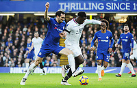 Davide Zappacosta of Chelsea and Jeffrey Schlupp of Palace<br /> Londra 10-03-2018 Premier League <br /> Chelsea - Crystal Palace<br /> Foto PHC Images / Panoramic / Insidefoto <br /> ITALY ONLY