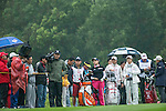 Spectators at the 17th hole during Round 3 of the World Ladies Championship 2016 on 12 March 2016 at Mission Hills Olazabal Golf Course in Dongguan, China. Photo by Victor Fraile / Power Sport Images