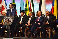 MEDELLÍN - COLOMBIA ,28-06-2019:Federico Gutierrez ,alcalde de Medellin durante la Asamblea General de La Organización de Estados Americanos (OEA)/ Federico Gutierrez, Mayor of Medellin during the General Assembly of the Organization of American States (OEA). Photo: VizzorImage / León Monsalve / Contribuidor.