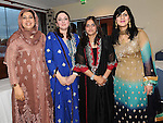 Shazia Ali, Sabina and Sameera Bashir and Nadia Saeed pictured at the Eid ai-Fitr Festivity after completing the fasting month of Ramadan held in Drogheda Leisure Centre. Photo: Colin Bell/pressphotos.ie