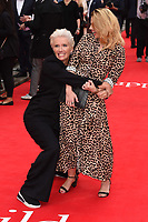 "Emma Thompson and Hayley Atwell<br /> arriving for the premiere of ""The Children Act"" at the Curzon Mayfair, London<br /> <br /> ©Ash Knotek  D3420  16/08/2018"