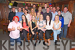Brendan Savage, Killeen Tralee, (standing 11th from left) celebrates his 56th Birthday with family and friends at the Castle Bar on Saturday