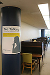 """College and university libraries have been experimenting with so-called """"Walden Zones"""" or deep quiet areas, designed to help students work free of the distractions of technology...The Georgia Tech Library in Atlanta, Georgia June 28, 2012."""