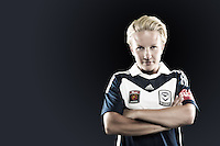 Petra Larsson. One of four international players to ply her trade at Melbourne Victory this season, Larsson has shown her undoubted class in the middle of the field. With the ability to play a wide range of passes and fire in shots from range from her position deep in midfield, the Swede has proved an integral part of the first team squad since joining up with the team. //  Prior to joining up with Victory, the 24 year old was a teammate of Lisa De Vanna at Damallsvenskan side Linköpings FC in Sweden. It was an unsuccessful bid for the Australian international that led to Victory snagging Larsson instead, and the move has so far proved a stunning success. //  (Copyright Photo Sydney Low. Text Zee Ko)