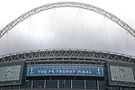 LONDON, ENGLAND - MARCH 29: Wembley Stadium ahead of the FA Carlsberg Trophy Final 2015 at Wembley Stadium between North Ferriby United and Wrexham on March 29, 2054 in London, England. (Photo by David Horn/EAP)