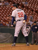 September 15, 2004:  Pitcher Kevin Barry of the Richmond Braves, Triple-A International League affiliate of the Atlanta Braves, during a game at Dunn Tire Park in Buffalo, NY.  Photo by:  Mike Janes/Four Seam Images
