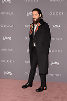 LOS ANGELES, CA - NOVEMBER 04: Jared Leto at the 2017 LACMA Art + Film Gala Honoring Mark Bradford And George Lucas at LACMA on November 4, 2017 in Los Angeles, California. <br /> CAP/MPI/DE<br /> &copy;DE/MPI/Capital Pictures