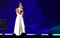 "Kacey Musgraves performs ""Rainbow"" at the 61st annual Grammy Awards on Sunday, Feb. 10, 2019, in Los Angeles. (Photo by Matt Sayles/Invision/AP)"