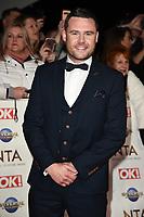 Danny Miller<br /> arriving for the National TV Awards 2020 at the O2 Arena, London.<br /> <br /> ©Ash Knotek  D3550 28/01/2020