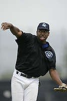 May 13, 2003: Delmon Young of Camirillo H.S. in action at Camirillo H.S. in Camirillo,CA.  Photo by Larry Goren/Four Seam Images