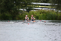 Race: 52  W.2x (Band 2)  Heat 2<br /> <br /> Peterborough Summer Regatta 2018 - Sunday<br /> <br /> To purchase this photo, or to see pricing information for Prints and Downloads, click the blue 'Add to Cart' button at the top-right of the page.